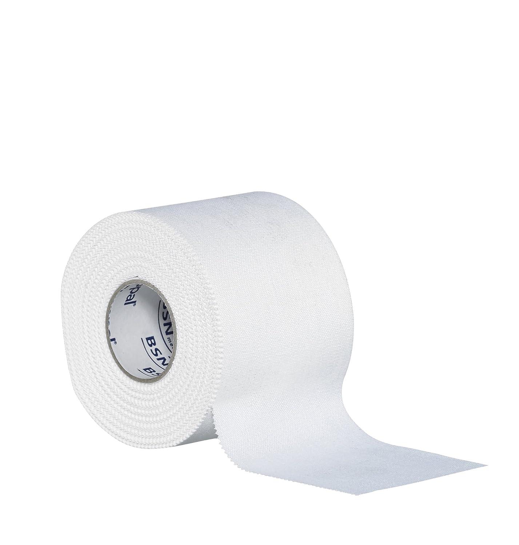 Strappal - Cinta para vendaje deportivo (adhesiva, hipoalergénica, viscosa con adhesivo de óxido de zinc) BSN Medical