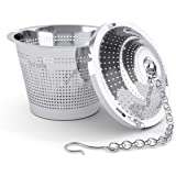 Schefs Premium Tea Infuser - Stainless Steel - Single Cup - Perfect Strainer for Loose Leaf Tea