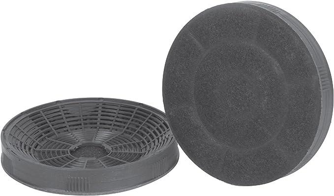 Silverline AF 100, filtro de carbón activo (1 par), accesorio para campana extractora de humos, filtro: Amazon.es: Grandes electrodomésticos