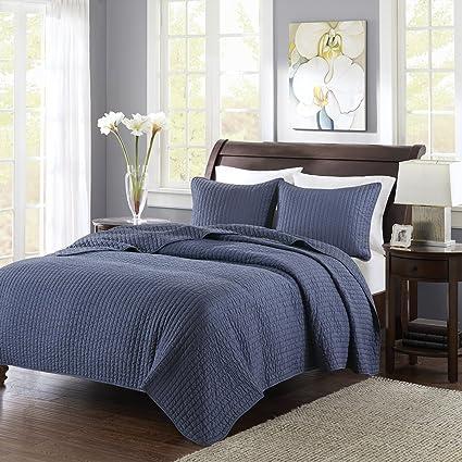 Amazon Madison Park Keaton Kingcal King Size Quilt Bedding Set