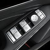 Car Window glass lift button Trim Cover sticker for Mercedes Benz A/B/C(W204)/E(W212)/GLA /CLA/ GLK/ GL/ ML/ GLE-class
