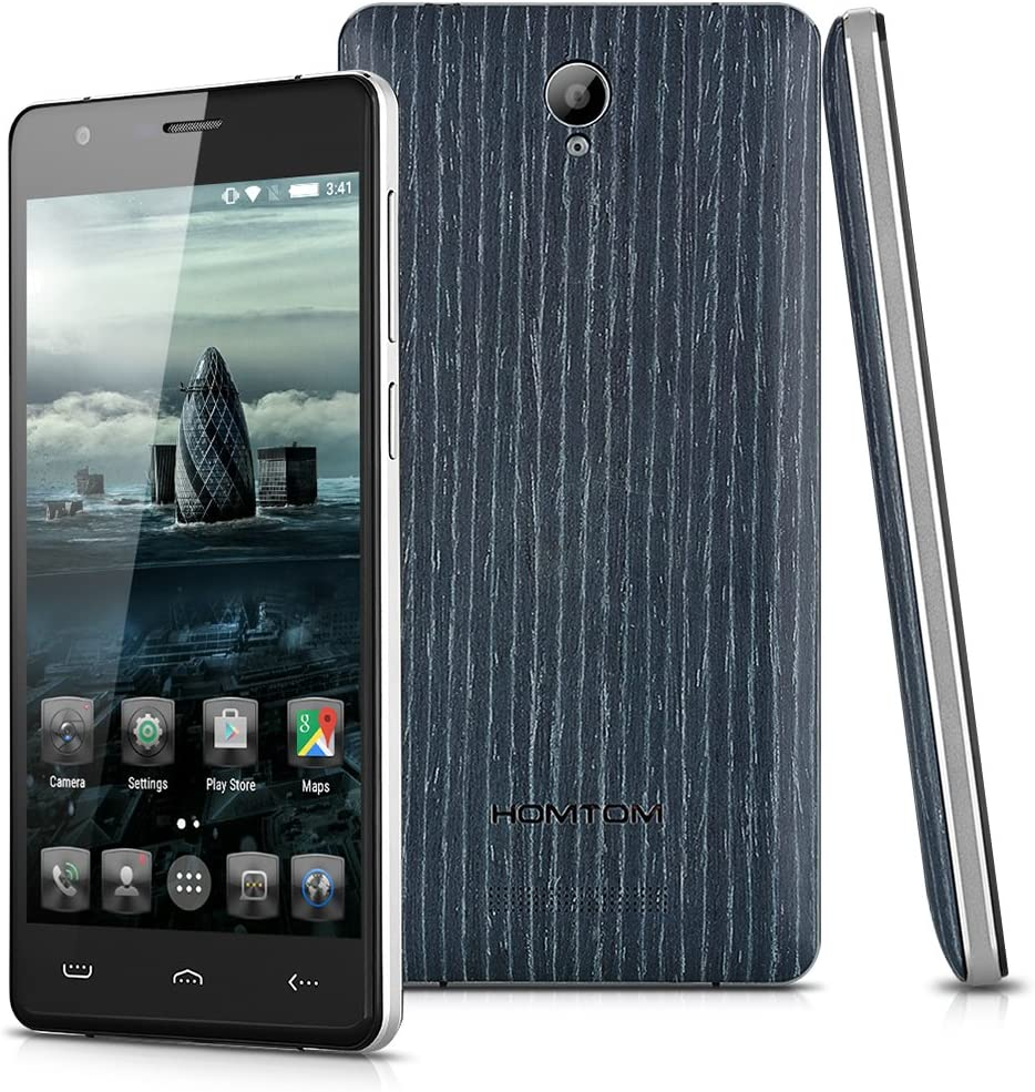 HOMTOM HT5 - Smartphone Libre Android 5.1 Lte 4G (5.0 HD, Dual Sim, 16Gb, 1Gb Ram, HotKnot Otg, Quad Core, 8Mp), Albaricoque: Amazon.es: Electrónica