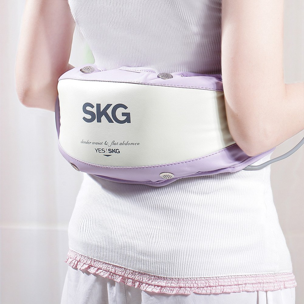 Vibrating Fat Burner/Loss Warm/heat-up Massage Belt for slim waist legs hips belly and back by LuckyStone