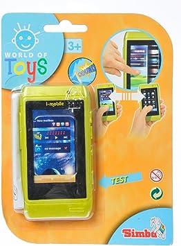 Simba - Smartphone Infantil táctil y con Sonido (4516304): Amazon.es: Juguetes y juegos