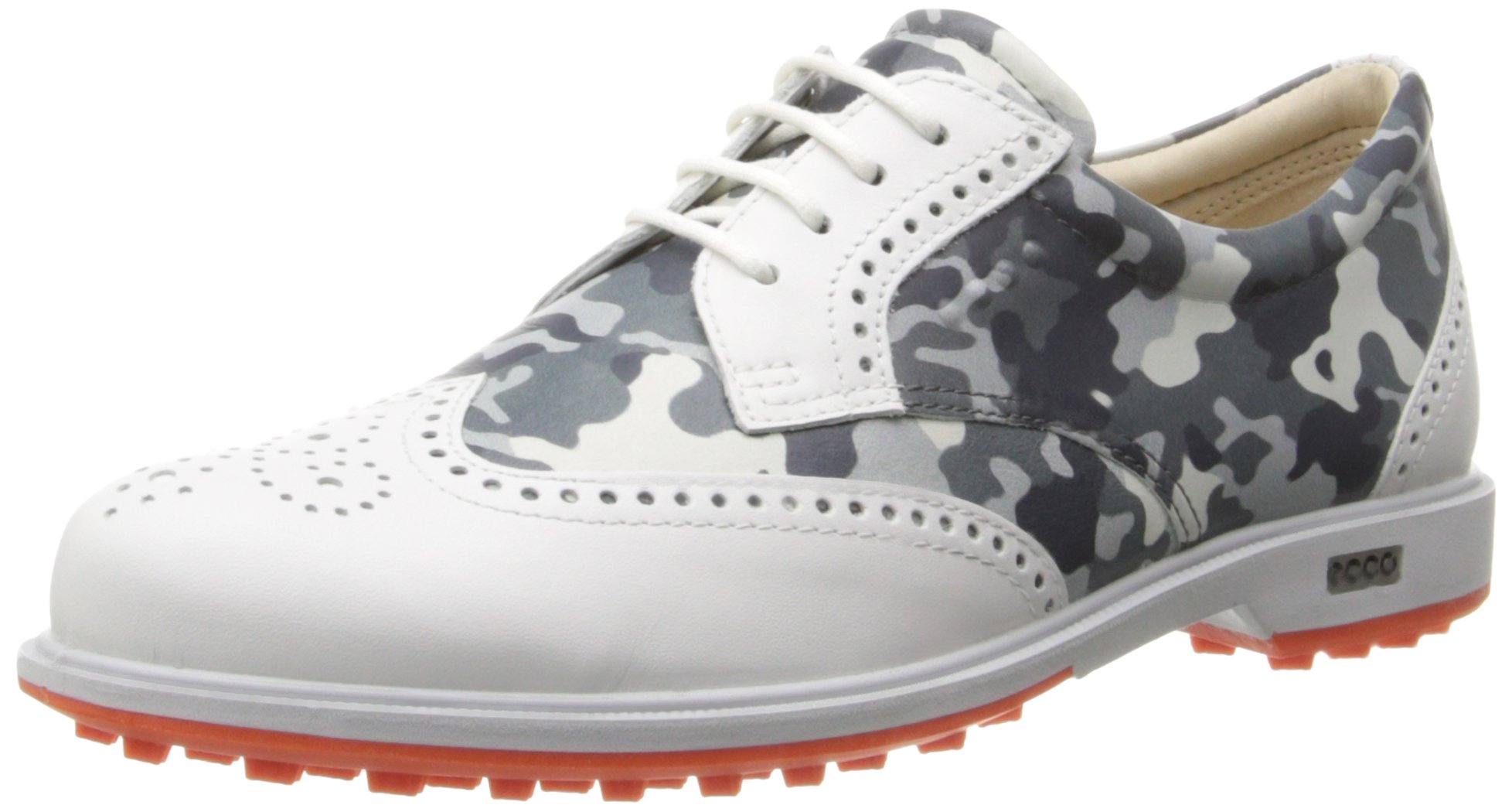 ECCO Women's Tour Hybrid Golf Shoe,White/Titanium,40 EU/9-9.5 M US