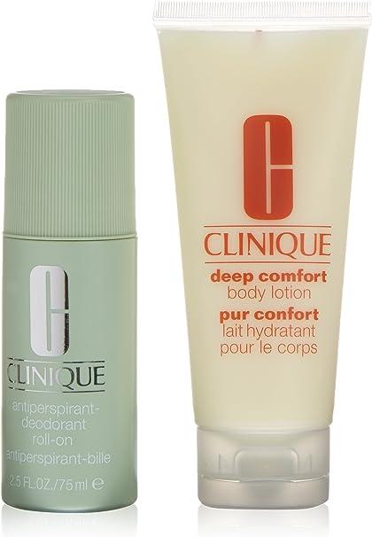 Clinique Deep Comfort Desodorante + Loción Corporal - 1 Pack: Amazon.es: Belleza