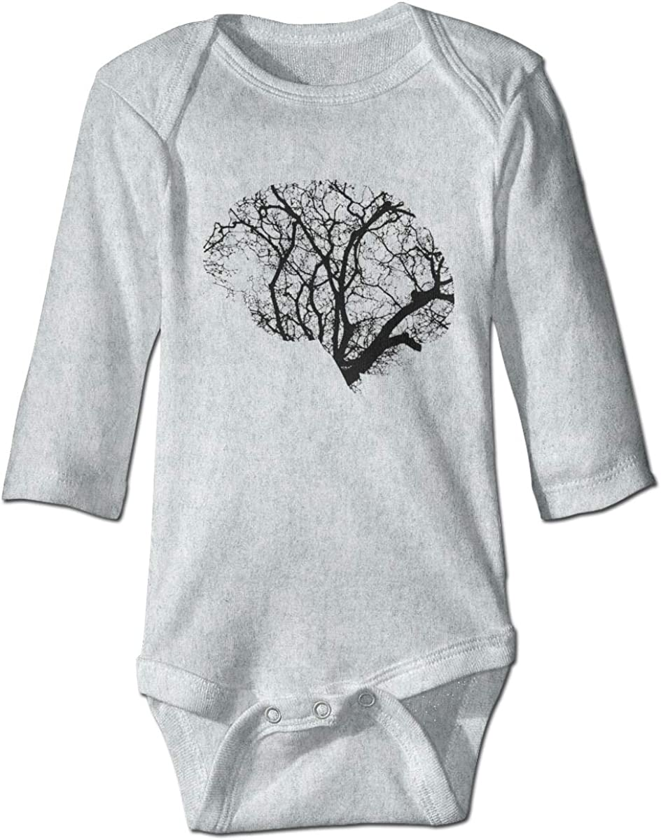 Marsherun Babys Toddler Neurons Tree Long-Sleeve Rompers Playsuit