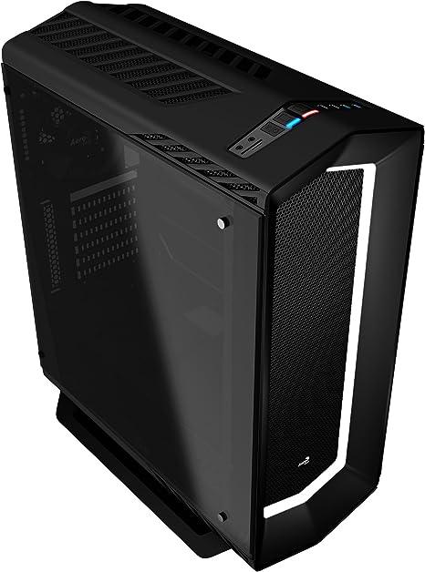 Aerocool P7C1BG - Caja gaming para PC (ATX, Semitorre, LED 8 ...