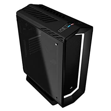 Amazon.com: Aerocool P7-C1BG Mid Tower 8 Colour LED Mode and PWM with Tempered Glass Panel - Black: Computers & Accessories