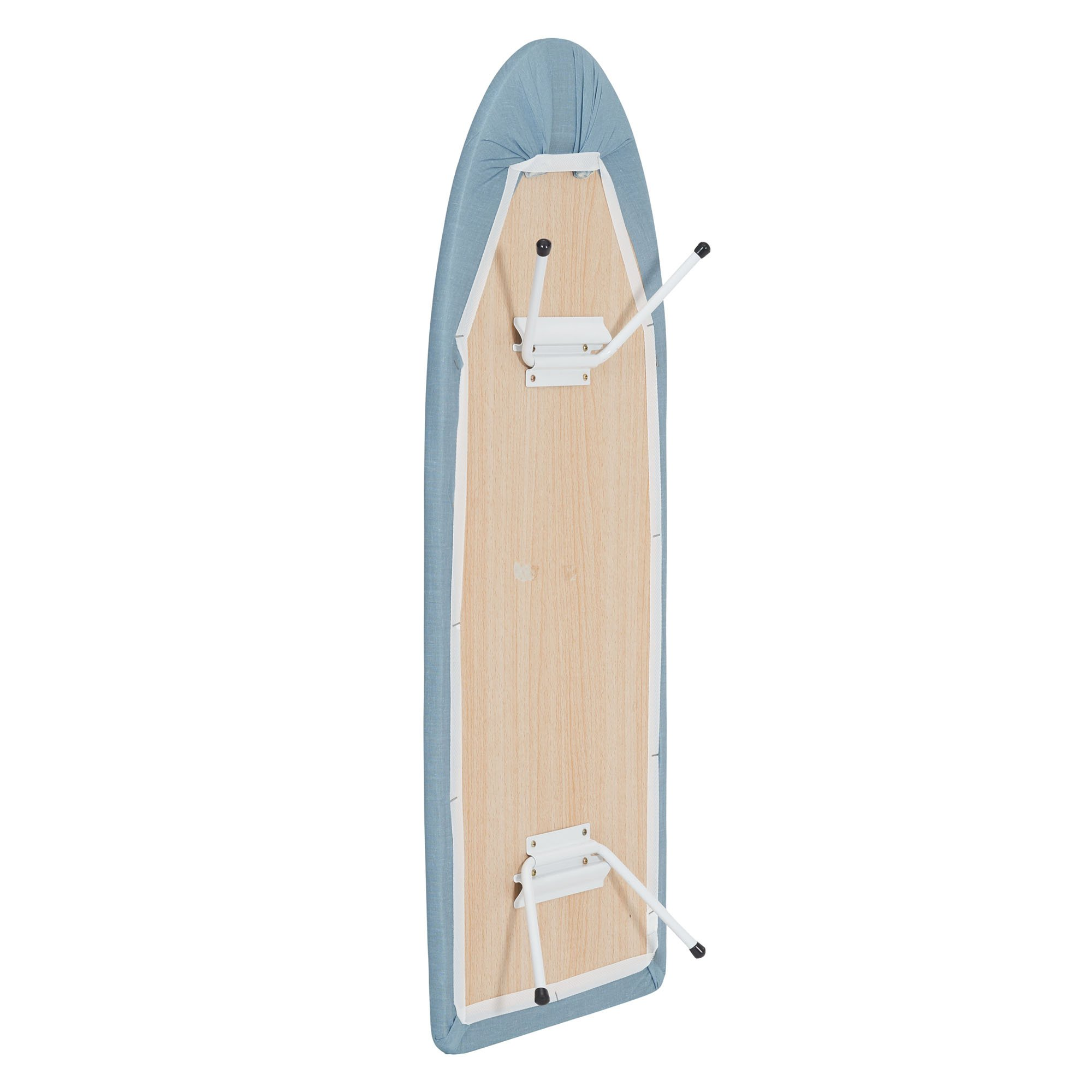 Household Essentials 120101-0 Collapsible Space Saving Tabletop Ironing Board with Folding Legs | Blue by Household Essentials