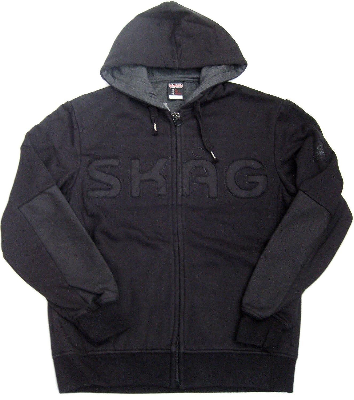 Skag Men's Cardigan black schwarz vorgewaschen X-Large