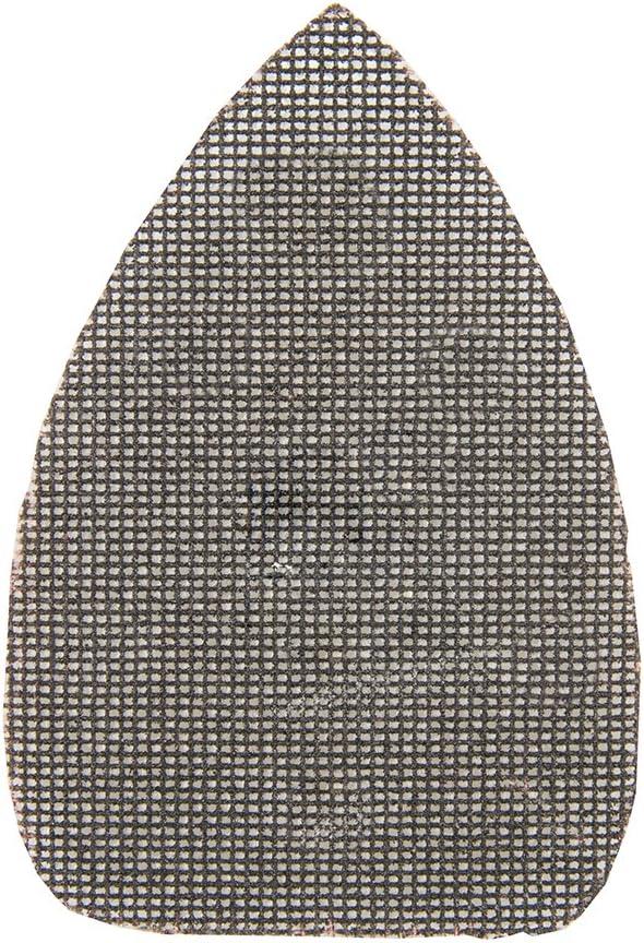 Silverline 824698 Lot de 10 Triangles abrasifs treillis auto-agrippant 150 x 100 mm grain 120