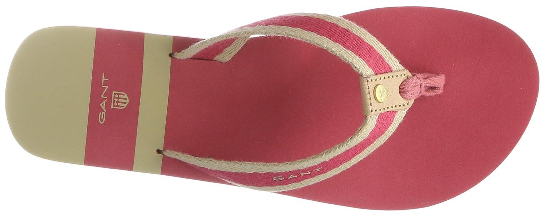 GANT Damen St Bart Zehentrenner, Pink) Pink (Chrysantem Pink) Zehentrenner, d49558
