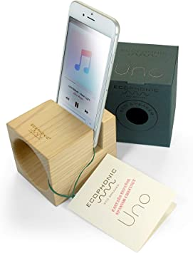 Ecophonic Altavoz ecológico de madera modelo UNO universal ...