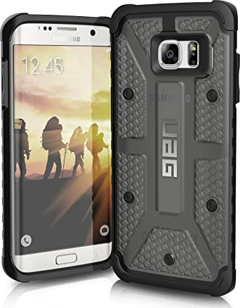 official photos b446d a86d7 UAG Samsung Galaxy S7 Edge [5.5-inch screen] Feather-Light Composite [ASH]  Military Drop Tested Phone Case