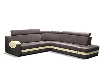 Grosse Ecksofa Sofa Eckcouch Couch Mit Schlaffunktion Und Bettkasten