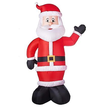 Christmas Inflatable.10 Airblown Inflatable Santa Christmas Inflatable