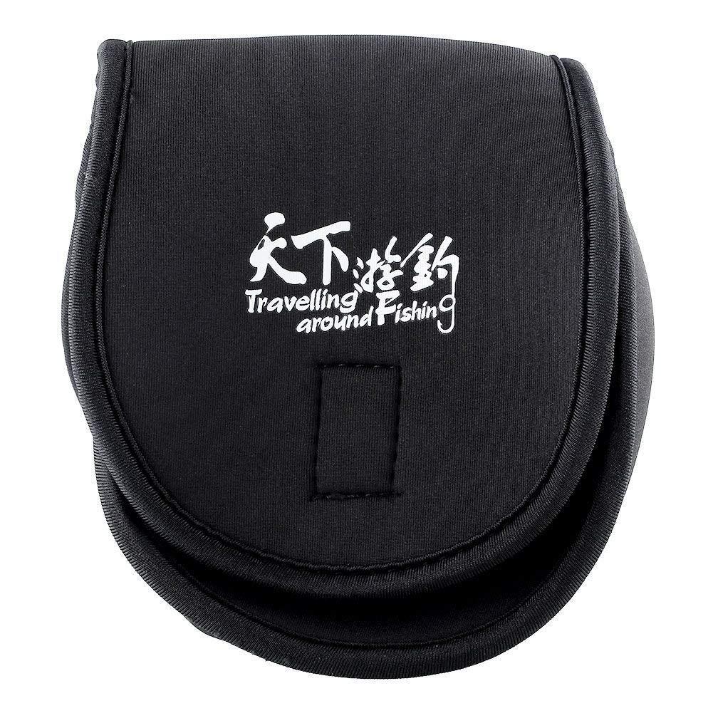 Portable Outdoor Sports Fishing Reel Mini Bag Pocket Fishing Tackle Pouch Box