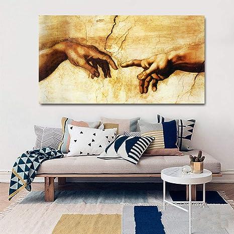 zlhcich Pintura Decorativa Moderna Minimalista salón sofá ...