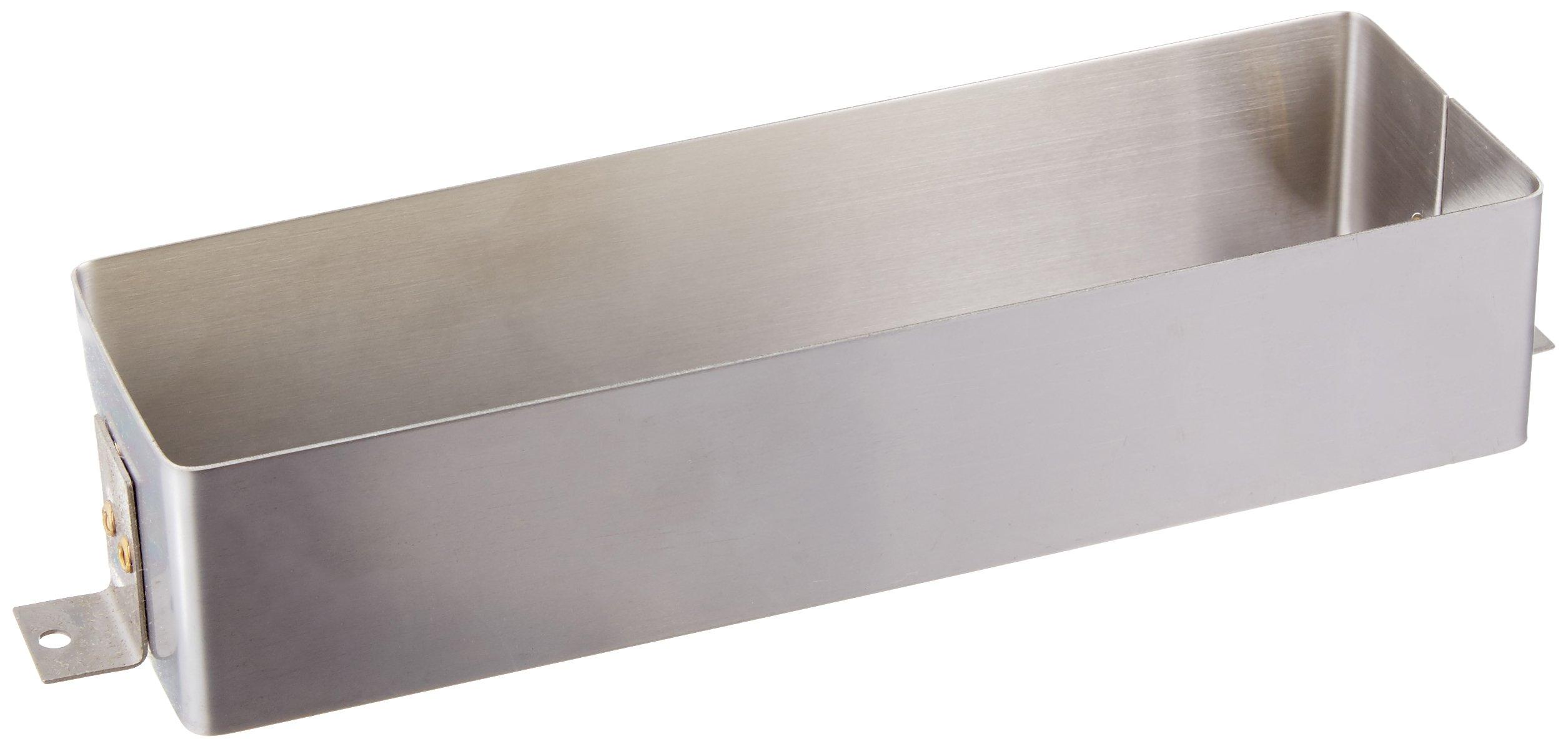 Baldwin 0050.324 Letter Box Sleeve, Satin Stainless Steel