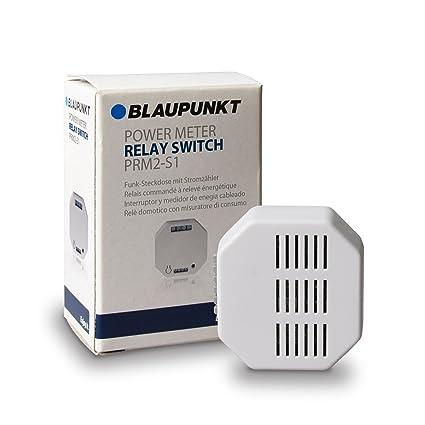 Blaupunkt Security PRM2-S1 - Interruptor y medidor de energía cableado