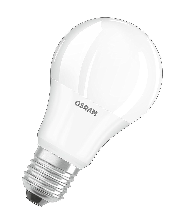 Matt 4000 Kelvin 3er-Pack Osram LED Base Classic A Lampe Kaltwei/ß in Kolbenform mit E27-Sockel nicht dimmbar Ersetzt 100 Watt