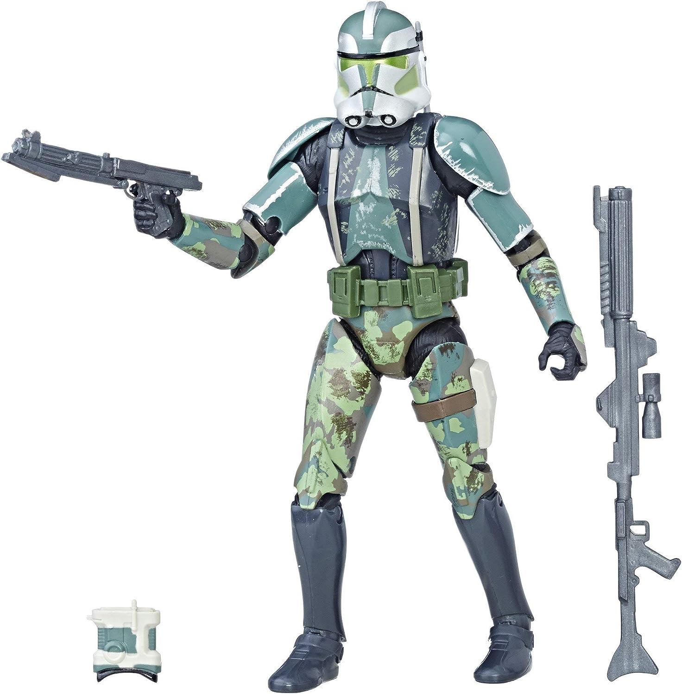 """Clone Commander Gree 6/"""" The Black Series STAR WARS Hasbro NEW MIB"""