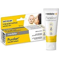 Medela Medela Purelan Lanolin Cream 37g | Nipple Cream to Relieve Sore and Cracked Nipples | Suitable for Breastfeeding…