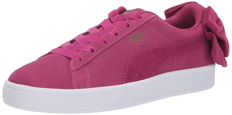 60dfda06103 Amazon.com | PUMA Women's Suede Bow Sneaker | Fashion Sneakers