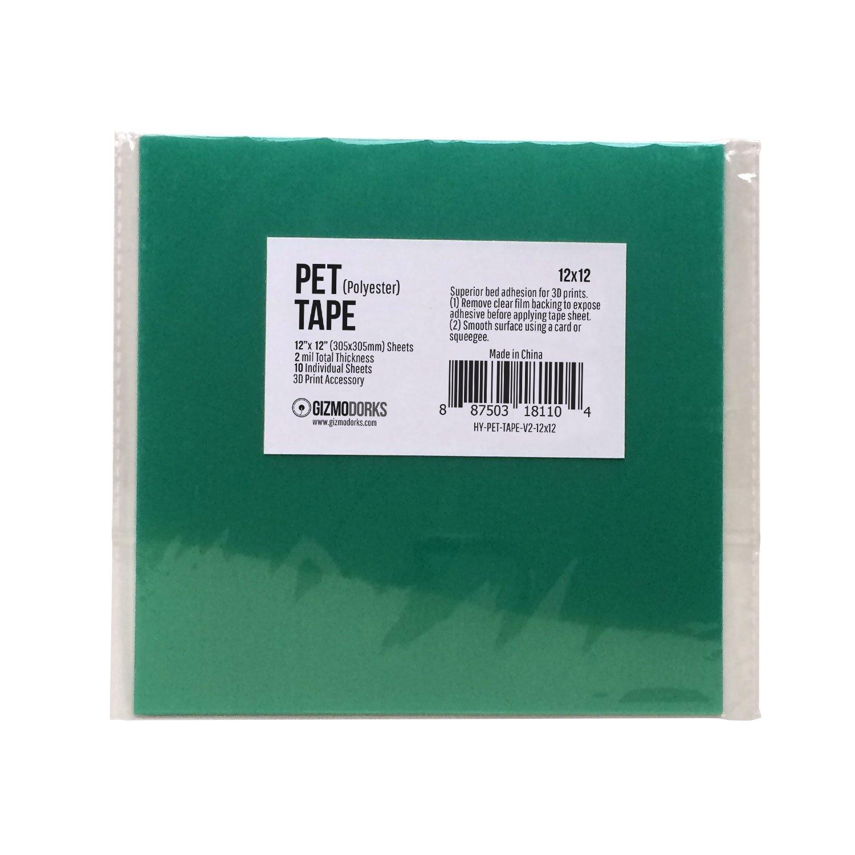 gizmodorks Película de poliéster PET cinta para impresoras 3d y la ...