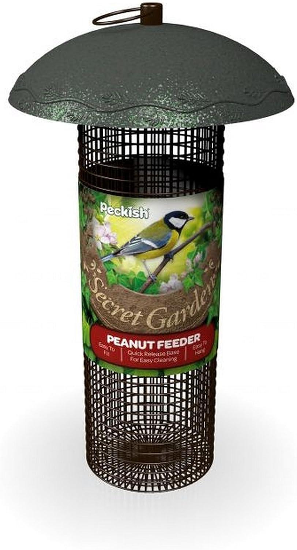 Peckish - Comedero de cacahuetes modelo Secret Garden