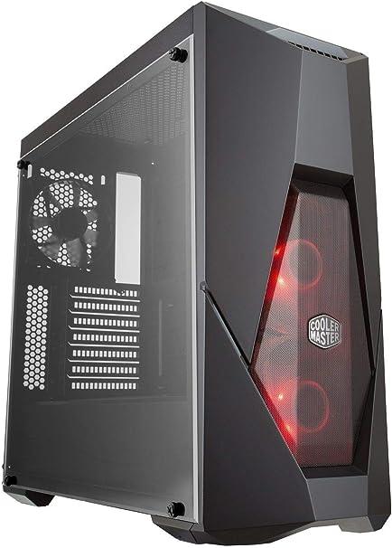 Cooler Master MasterBox K500L - Caja Ordenador PC ATX con Panel Semi-Mallado, 2 x 120mm Ventiladores Preinstalados, Panel Lateral Transparente, Configuraciones Flujo de Aire Flexibles: Cooler: Amazon.es: Informática