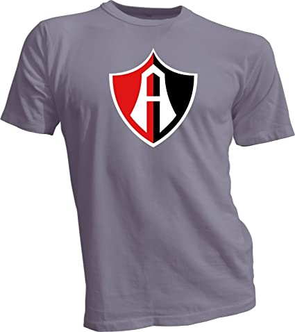 CLUB ATLAS Guadalajara Mexico Futbol Soccer Gray T-SHIRT Camiseta NEW Size s-4x