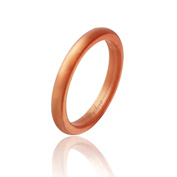 Amazoncom Thin and Stackable Silicone Wedding Ring for Women by