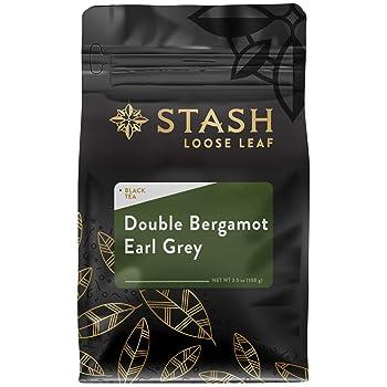 Stash Tea Double Bergamot Loose Leaf Earl Grey Tea