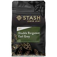 Stash Tea Double Bergamot Earl Grey Loose Leaf Tea 3.5 Ounce Pouch Loose Leaf Premium...