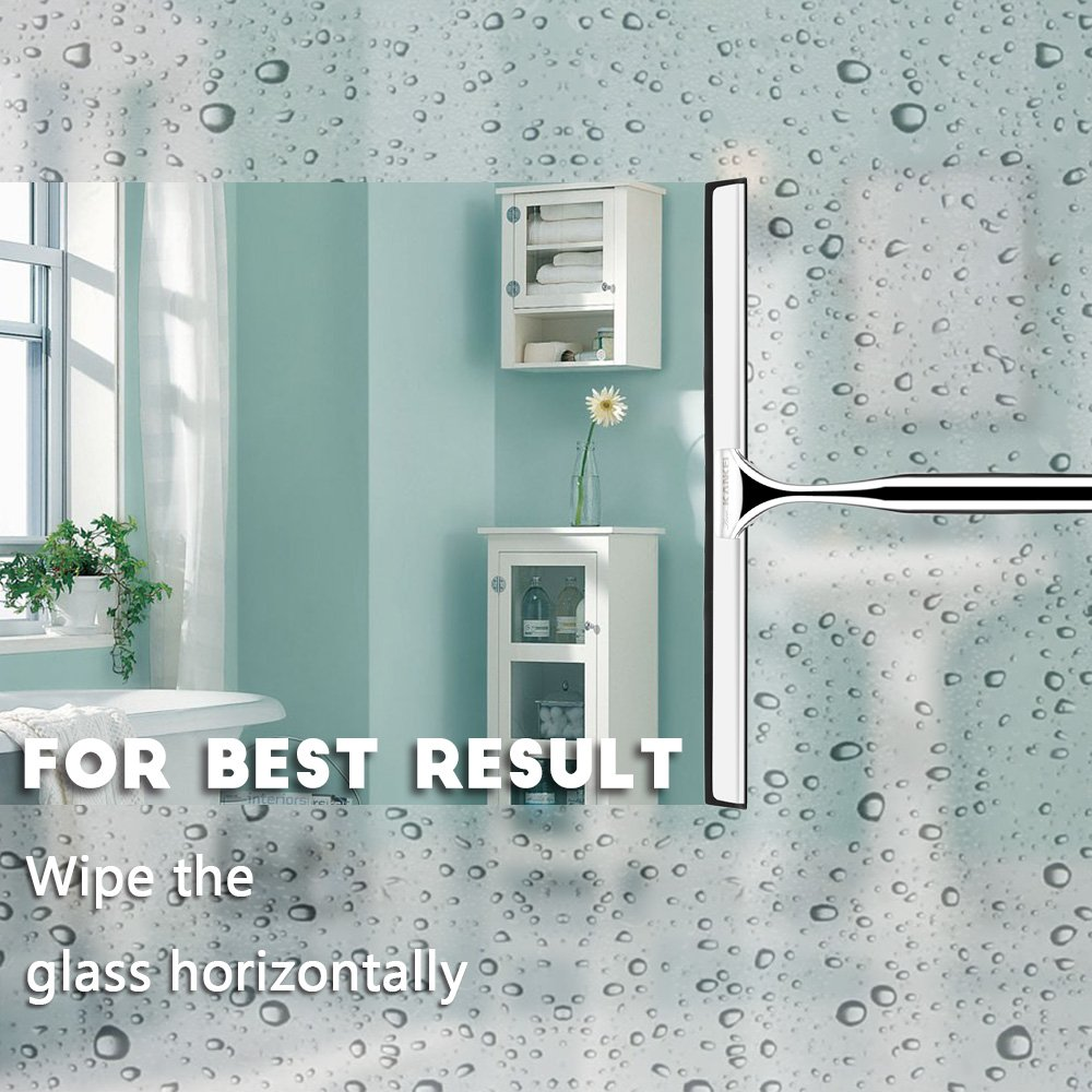 Love-KANKEI Shower Squeegee, Professional Shower Doors Glass ...