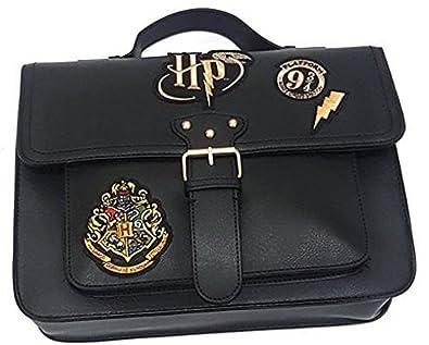 a8a7686c1 Primark Ladies Girl`s Womens Harry Potter Hogwarts Crest Black new Satchel  Bag: Amazon.co.uk: Shoes & Bags