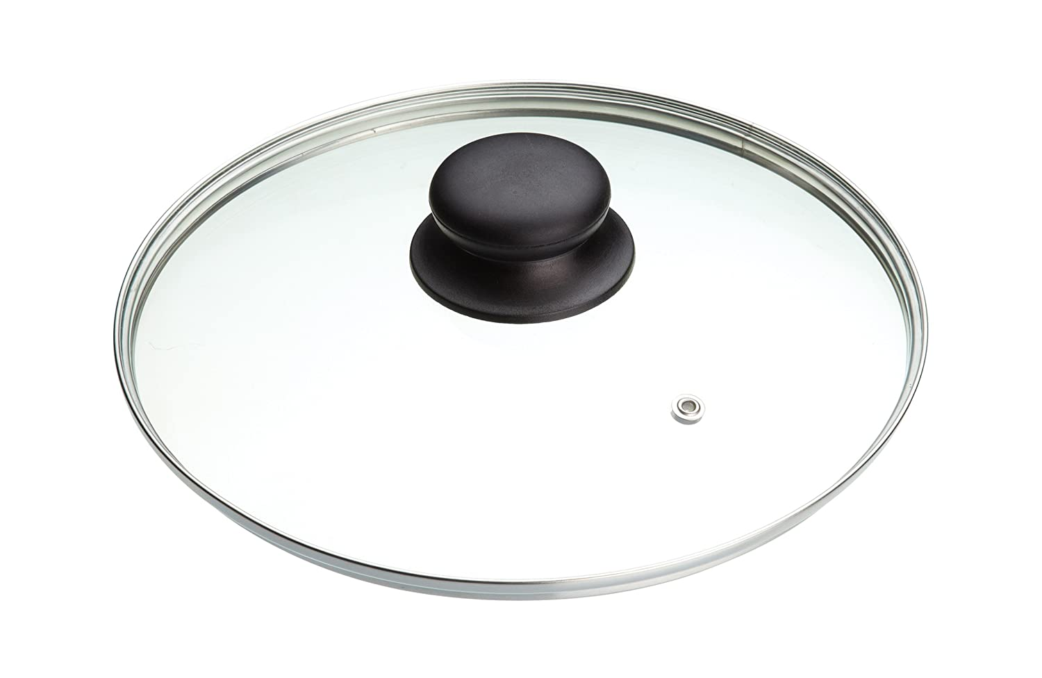 ARIZONE Kitchen Craft Size - (14CM) To (36CM) Frying Pan Saucepan Glass Lid Cover (14cm) AXEBLINK