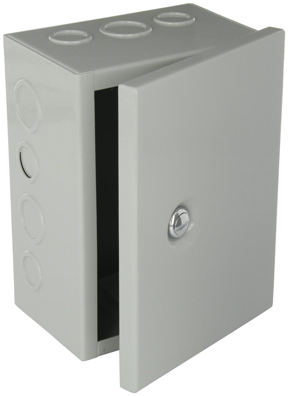 Bud Industries Jbh 4956 Ko Steel Nema 1 Sheet Metal Box