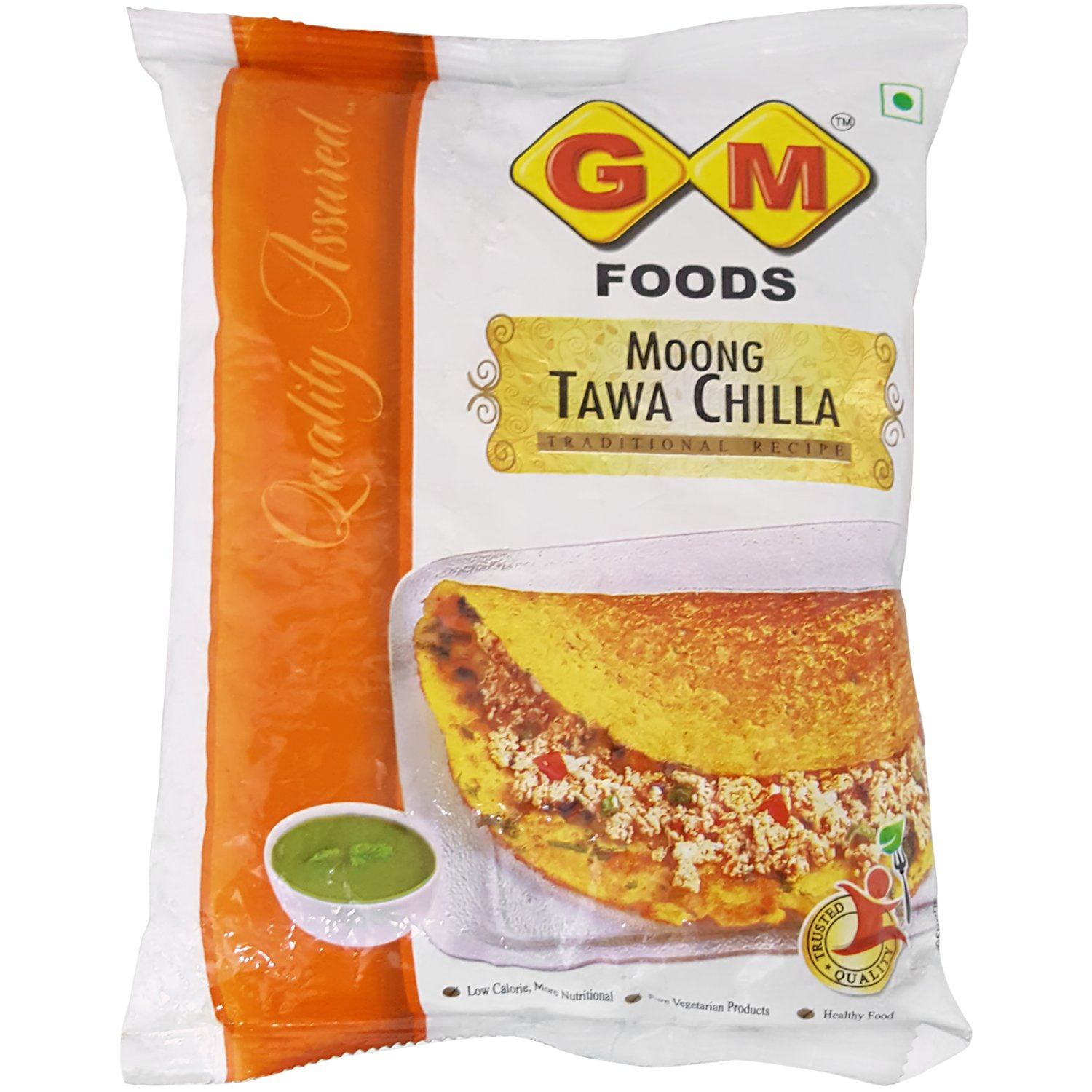 Gm Foods Flour Moong Tawa Chilla 400g Pouch Amazon In Grocery Gourmet Foods