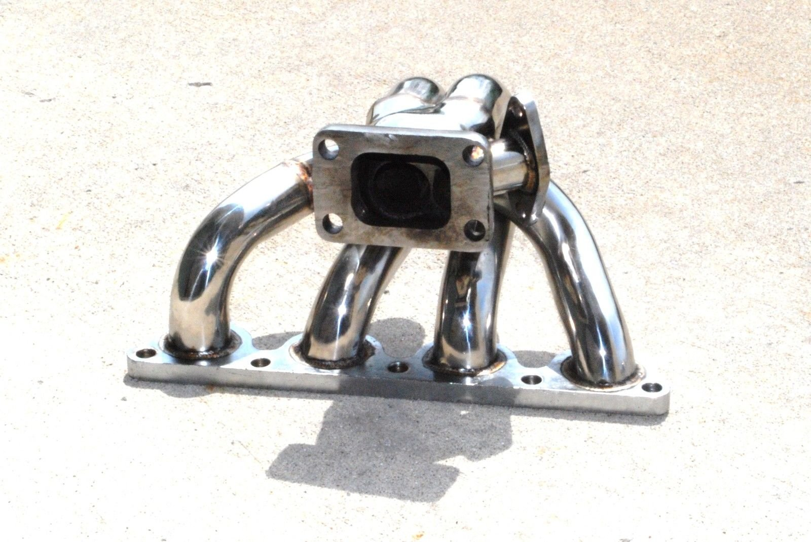 Tubular Turbo Manifold Stainless Steel fits88-91 Honda CRX /88-00 Civic D15/D16 by emusa (Image #2)