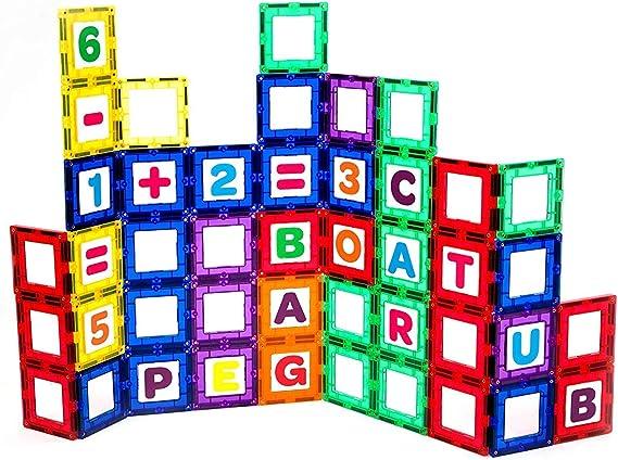 Playmags Magnetic Tile Building Set