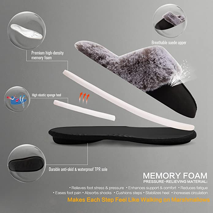 Amazon.com: CIOR Fantiny - Zapatillas de espuma ...