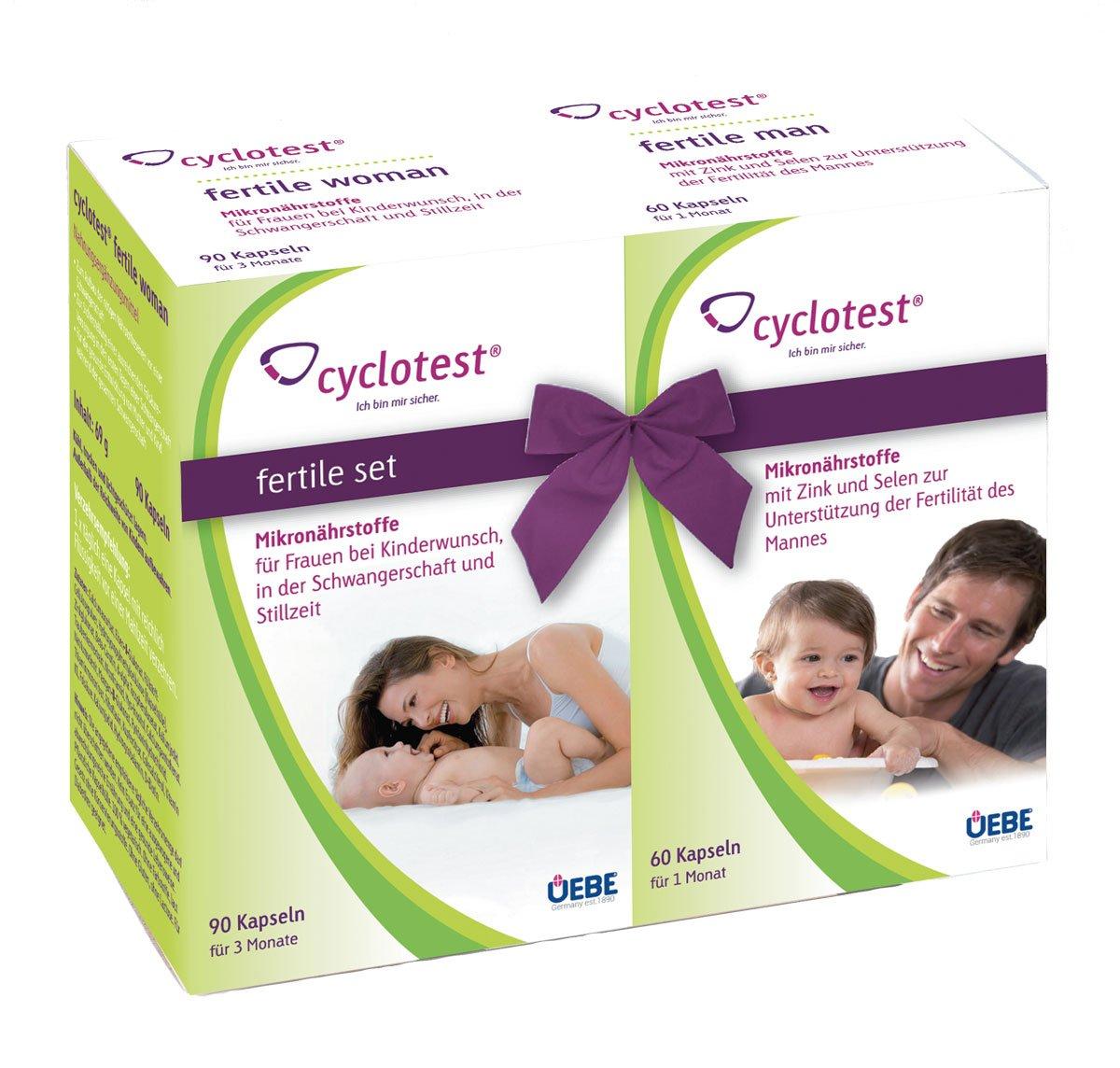 Cyclotest fertile Set für Frau und Mann