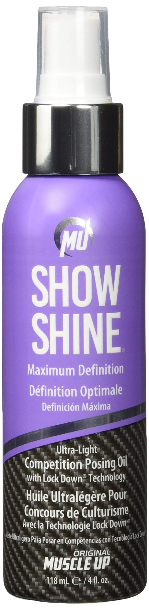 Pro Tan Muscle Up Show Shine Supplements, 4 oz
