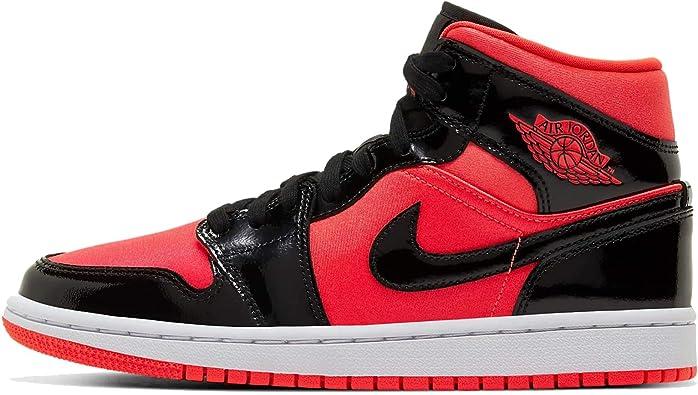 Amazon.com | Nike Womens Air Jordan 1 Mid Womens Bq6472-600 ...