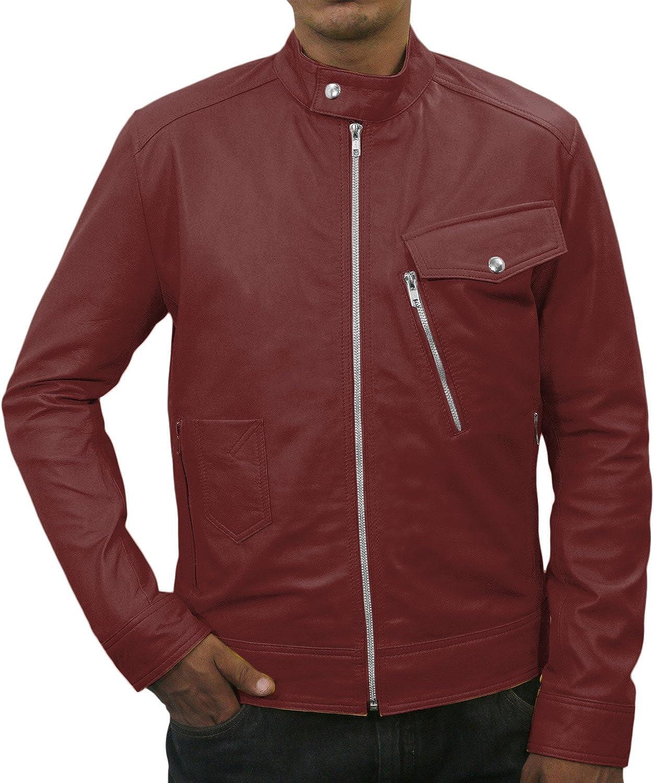 Black, Classic Jacket 1501057 Laverapelle Mens Genuine Lambskin Leather Jacket
