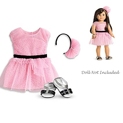 Amazon.com  American Girl Grace - Grace s Opening-Night Outfit for ... 7b7fa3bb6