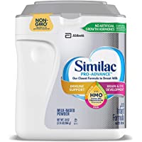 Similac Similac Pro-Advance Non-GMO with 2-FL HMO Infant Formula with Iron Powder, 34 Ounce ., 34 Ounce